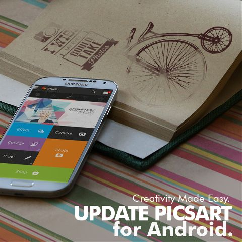 android update for photo editing and sharing