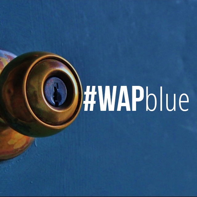 A sapphire weekend art project with wapblue for Weekend art projects