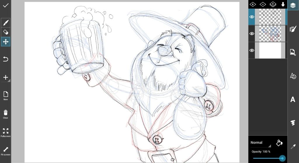 how to draw st. Patricks' day Drawing step by step