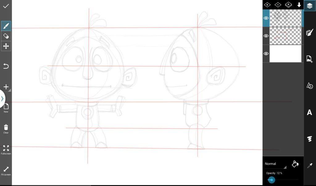 how to draw a cartoon character step by step