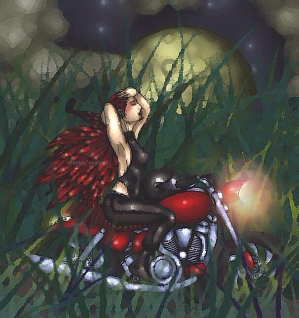 221votes  6th place  #dcmotorcycle #art #photography  #emotions #drawing