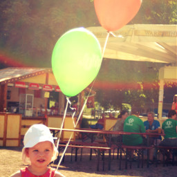 balloon baby colorful happychild photography