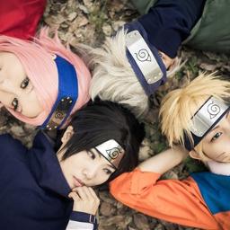 naruto sasuke uchia sakura haruno cosplay naruto uzumaki