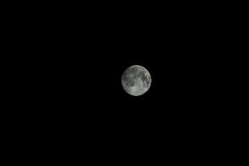 moon supermoon alone dslr slt-a58