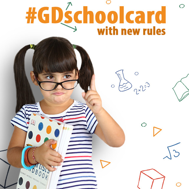 Design a Back to School Card for the Graphic Design Contest