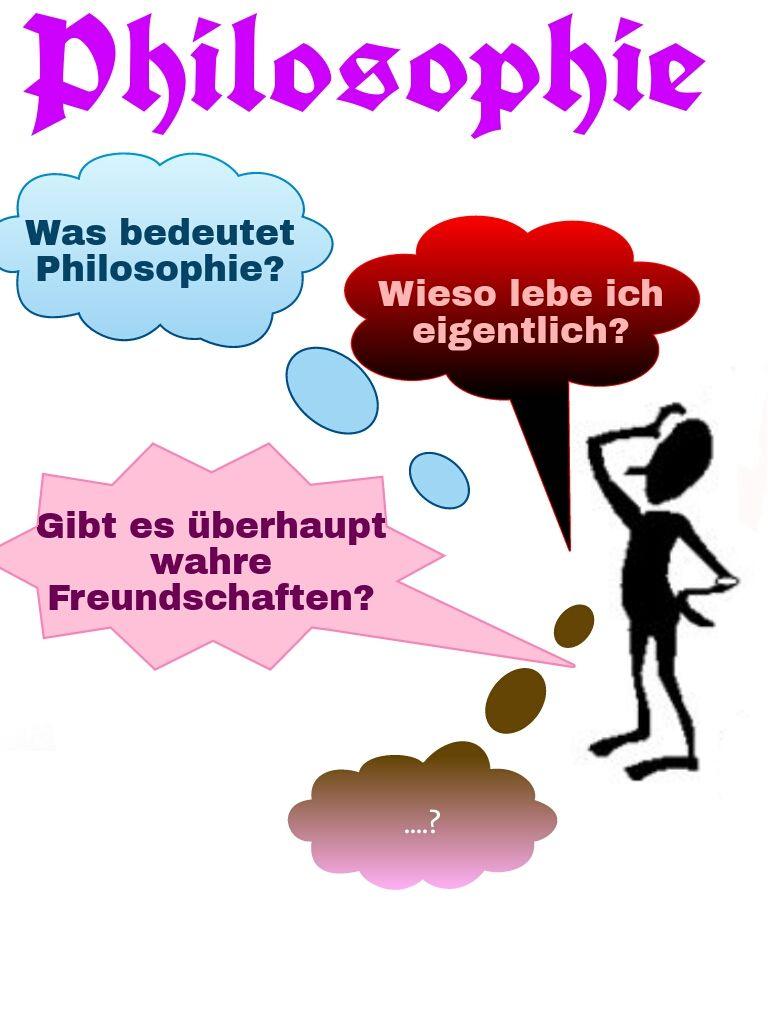 Meine selbst gemachte Philosophie Deckblatt ;)
