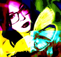 collage colorful photography popart selfie