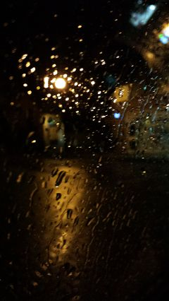 cars photography travel night rain