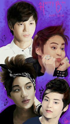 art drawing kpop music people