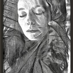leaflove digitalcanvas digitalsketch artisticselfie artisticportrait