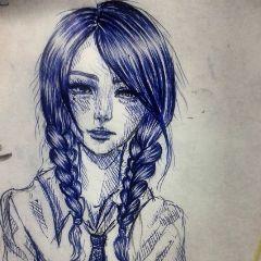 drawing art sketch pen doodle