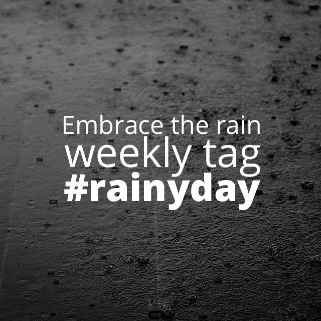 rainy day photo tag