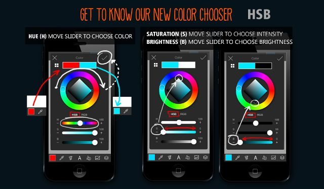 How to use Color Chooser