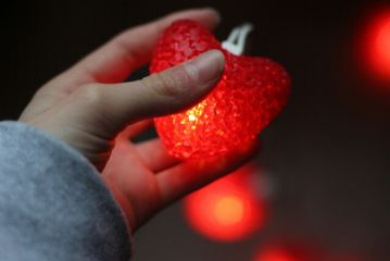 heart hand photography people red
