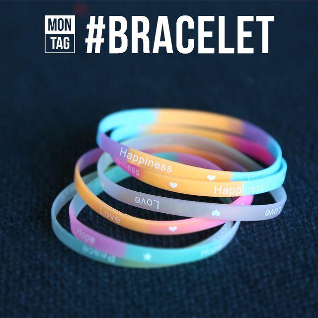 hash tag bracelet