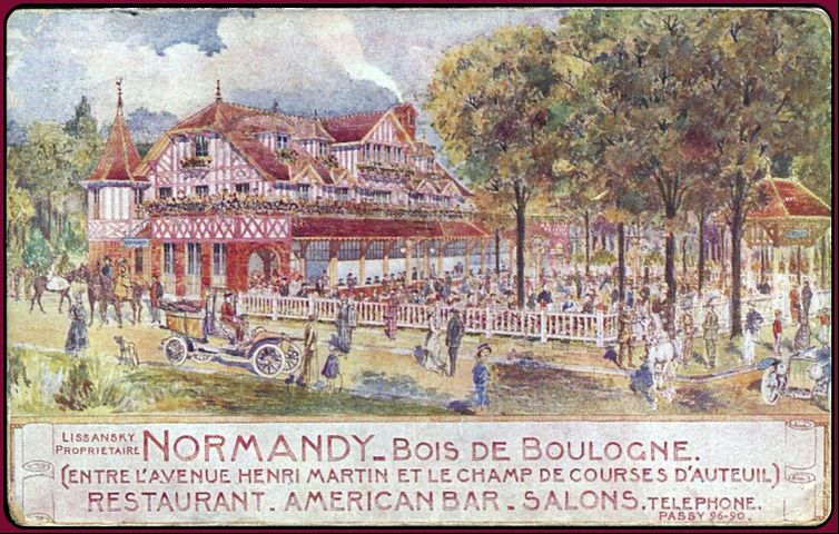 travel restaurant family history paris