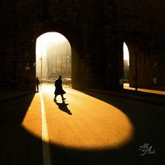 light shadow street people photography