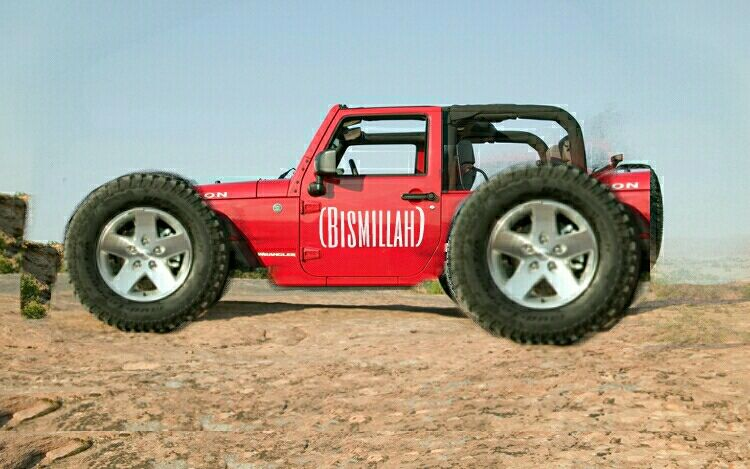 Jeep Wrangler Custom Modified Beach Buggy