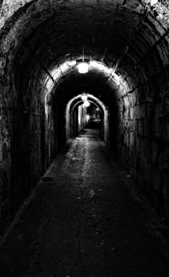 tunnel ireland blackandwhite